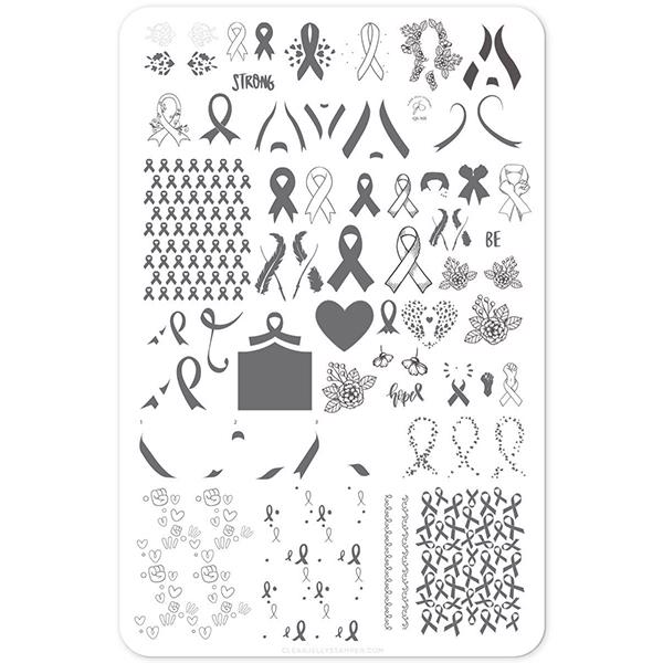 Image of All For A Cause (CjS-125) - Stampingplade, Clear Jelly Stamper