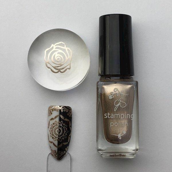 #51 Bring on the Bubbly - Stamping neglelak 5 ml, Clear Jelly Stamper
