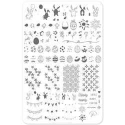 Bunny Foo Foo (CjSH-31) - Stampingplade, Clear Jelly Stamper