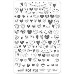 PS:I Love You (CjsV-10) - Stampingplade, Clear Jelly Stamper