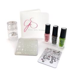 Baby Bling Stamping starter kit, Clear Jelly Stamper