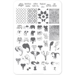 Everything Elephant (CjS LC-44) Stampingplade, Clear Jelly Stamper