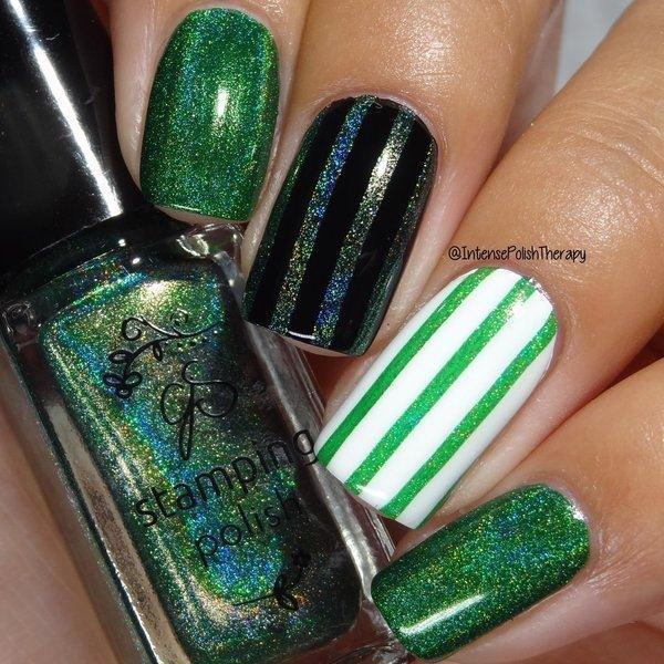Holo 01, Stamping neglelak, Clear Jelly Stamper