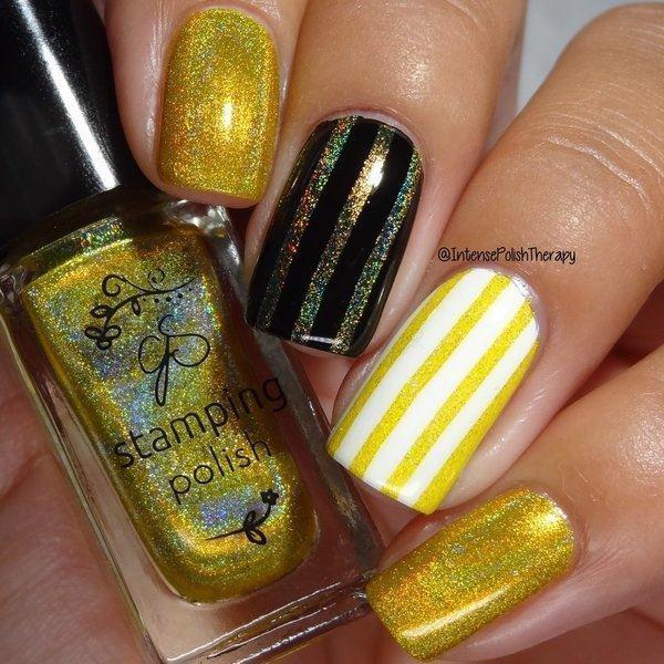 Holo 02, Stamping neglelak, Clear Jelly Stamper