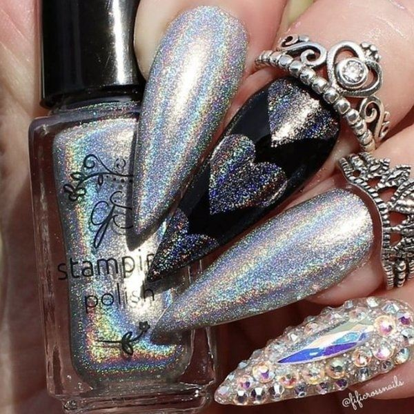Holo 03, Stamping neglelak, Clear Jelly Stamper