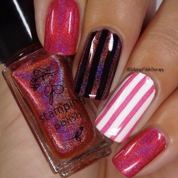 Holo 04, Stamping neglelak, Clear Jelly Stamper