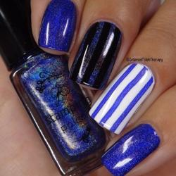 Holo 05, Stamping neglelak, Clear Jelly Stamper