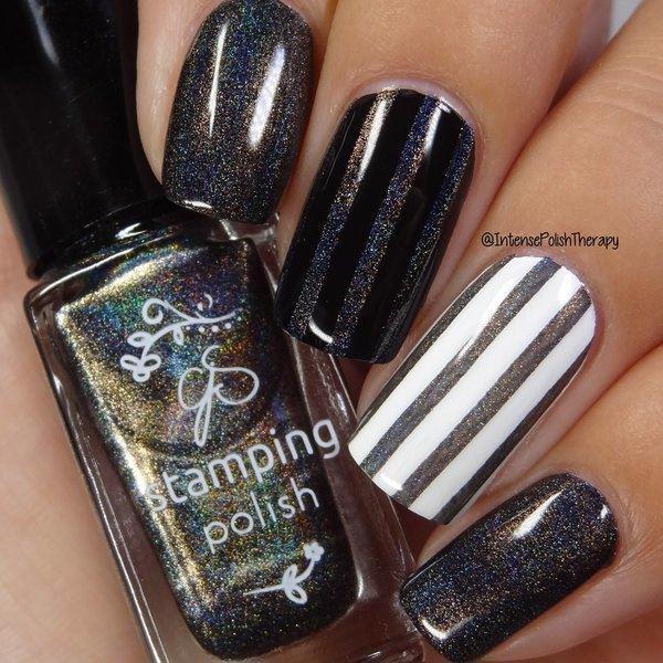 Holo 06, Stamping neglelak, Clear Jelly Stamper