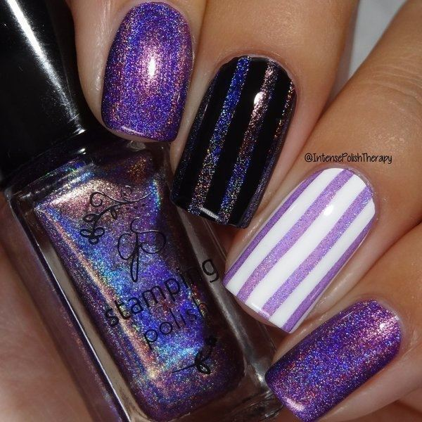 Holo 07, Stamping neglelak, Clear Jelly Stamper