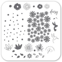 Daisy Do Daisy Dont (CjS-113) Stampingplade, Clear Jelly Stamper