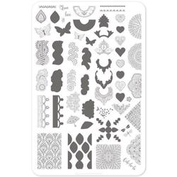 Frill Seeker (CjSV-13) - Stampingplade, Clear Jelly Stamper