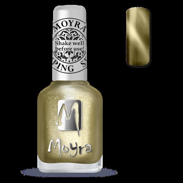 Image of Magnetic Gold Stamping neglelak, Moyra