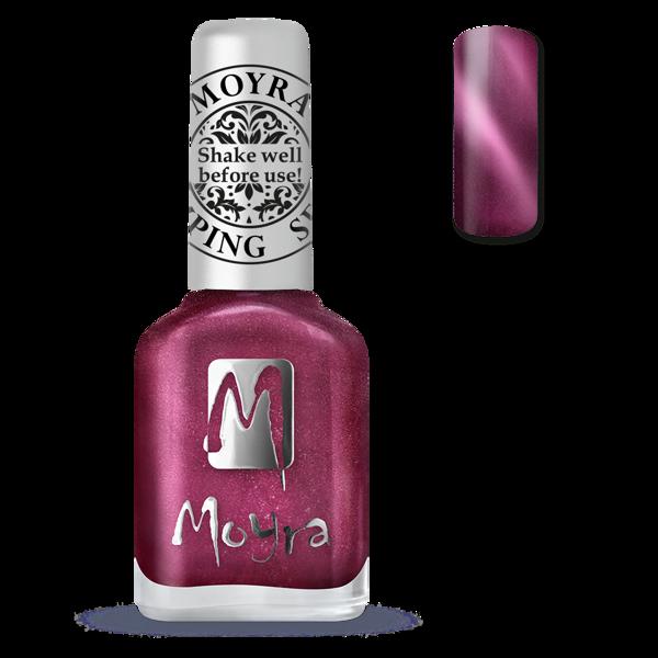 Image of Magnetic Red Stamping neglelak, Moyra