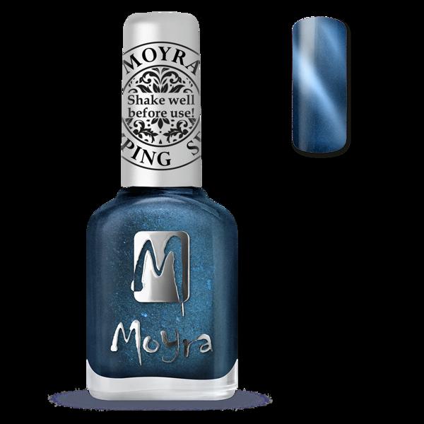 Image of Magnetic Blue Stamping neglelak, Moyra