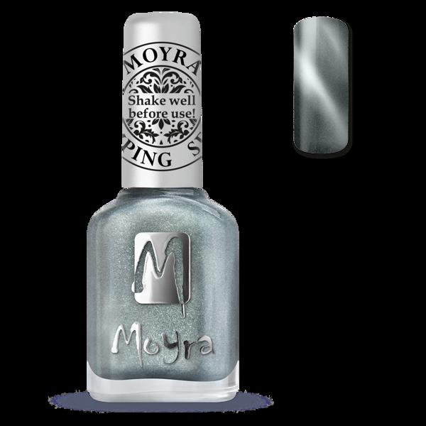 Image of Magnetic Silver Stamping neglelak, Moyra