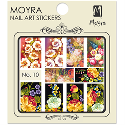 Moyra Water Decal stickers nr. 10 (u)