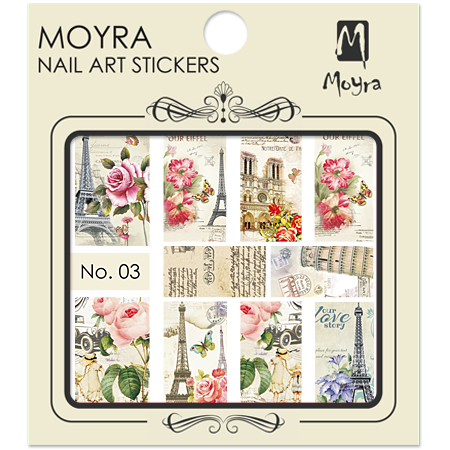 Moyra Water Decal stickers nr. 03