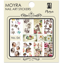 Moyra Water Decal stickers nr. 04