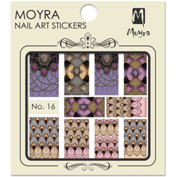 Moyra Water Decal stickers nr. 16 (u)