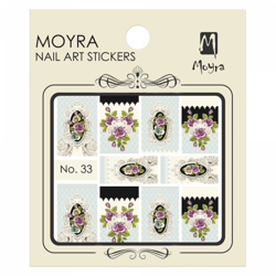 Moyra Water Decal stickers nr. 33