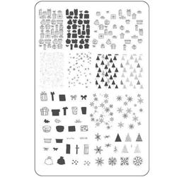 Pretty Paper - Gifted (CjS C-26), stampingplade, Clear Jelly Stamper
