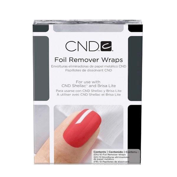 Image of   Shellac Remover wraps 10 stk, CND