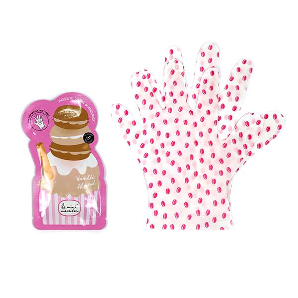 Image of   Hand Mask Vanilla Almond, Le Mini Macaron