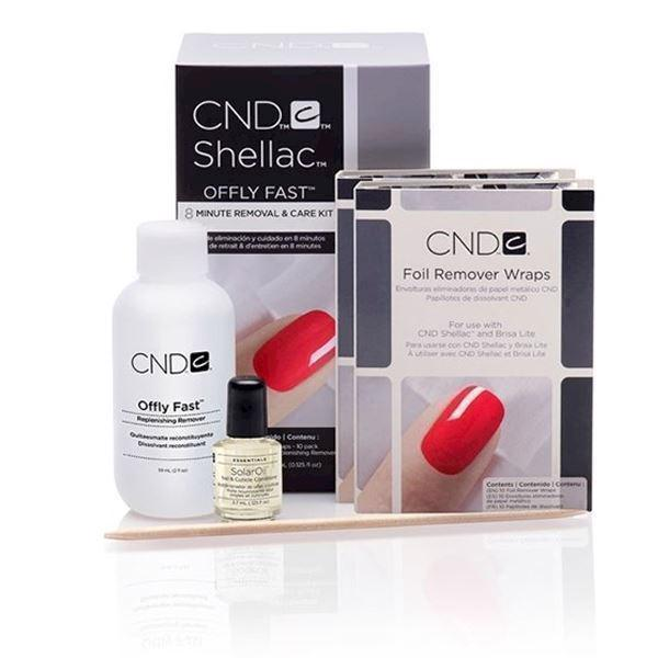 Image of   Shellac Remover Kit, CND