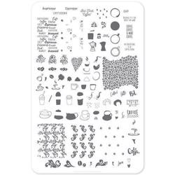 Roasted (Cjs-89) - Stampingplade, Clear Jelly Stamper