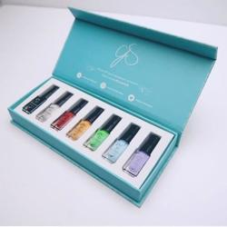 Stamping Polish Kit - Starter (7 farver á 5 ml), Clear Jelly Stamper