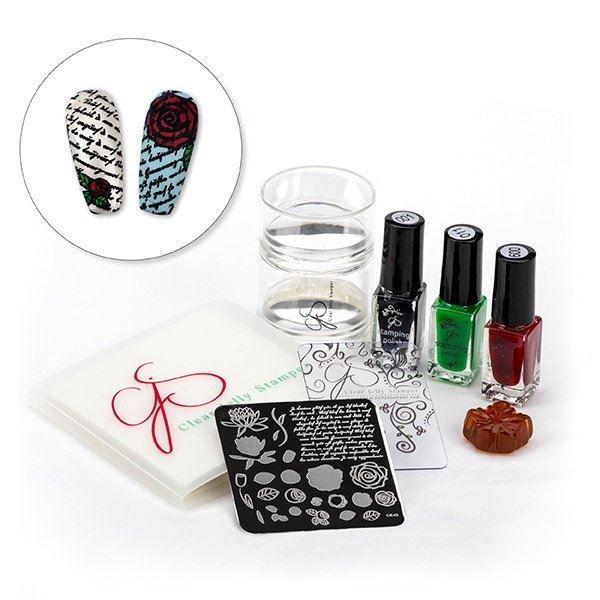Stamping starter kit, Clear Jelly Stamper