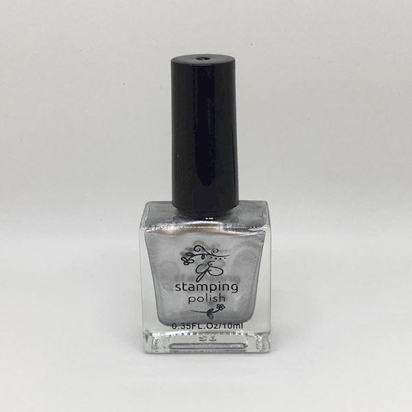 Image of #4 Steal the Show - Stamping neglelak 10 ml, Clear Jelly Stamper