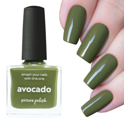 AVOCADO, Mystery Polish, Picture Polish