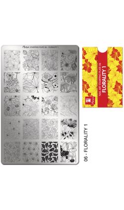Stamping Plate NO. 06 Florality 1, Moyra