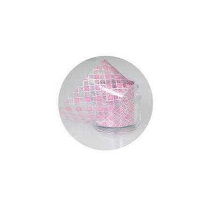Image of Neglefolie, Pink Checkers