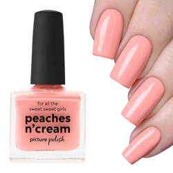 PEACHES N CREAM, Classic, Picture Polish