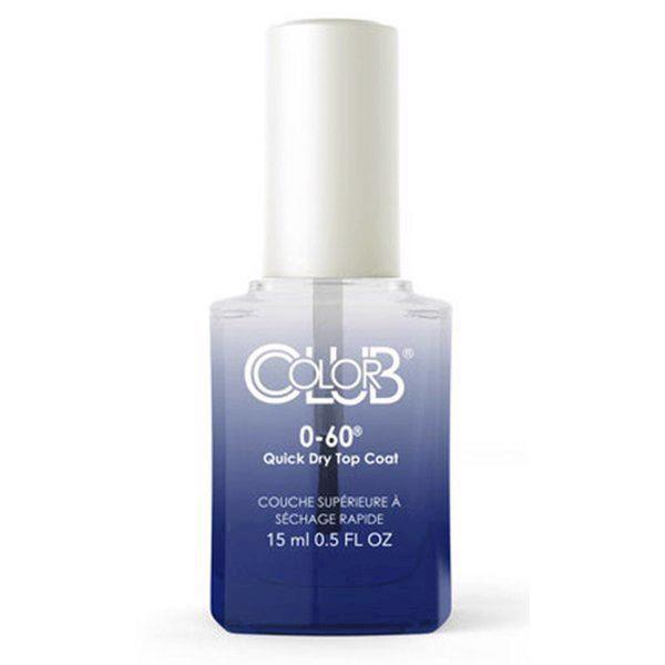 Image of   0-60 Quick Dry TopCoat, Color Club Perform Series