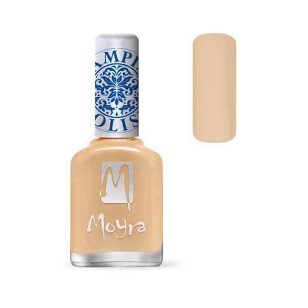 Image of   Beige Moyra Stamping nail polish