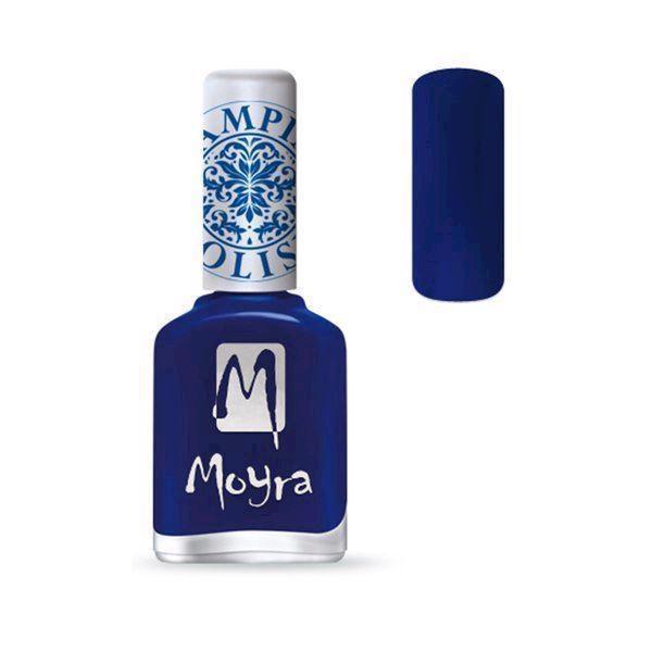 Image of   Blå Moyra Stamping nail polish