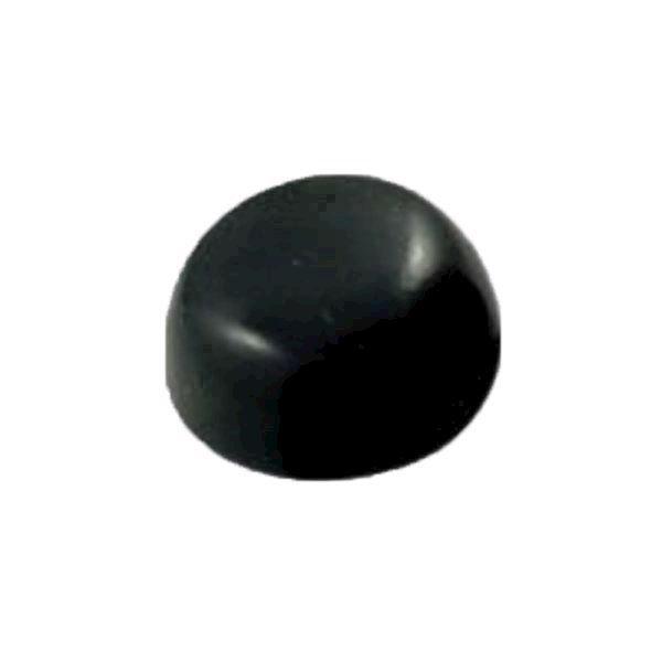Image of   Blødt sort stamper hoved (No 01 stamper) (u)