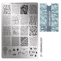 Dreamology Stamping Plate NO. 27 Moyra