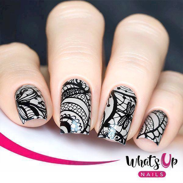 Step By Step stamping nail art - Klassisk stamping