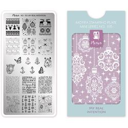 My real intention MINI Stamping Plate NO. 105 Moyra