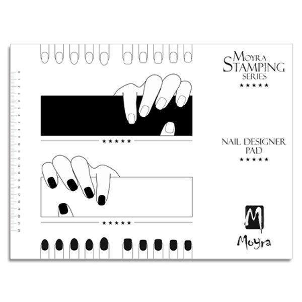 Image of Nail Designer Pad, Moyra