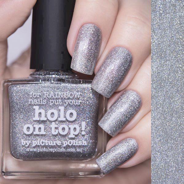 Image of   HOLO ON TOP!, Top/Base, Picture Polish