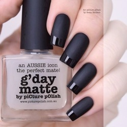 GDAY MATTE Top/Base Picture Polish