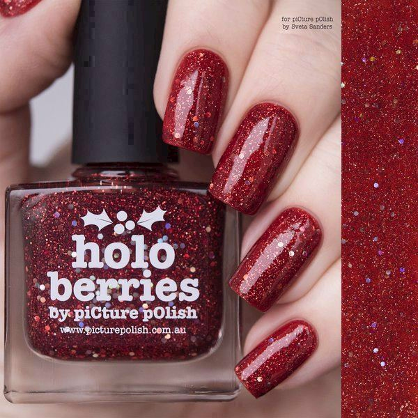 Image of   HOLO BERRIES, Special Edition , Picture Polish