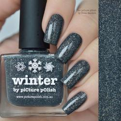 WINTER Opulence Picture Polish