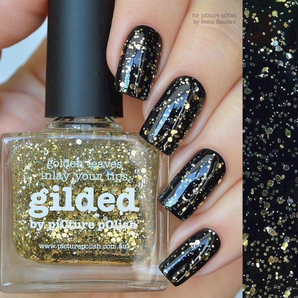 Image of   GILDED, Glitter, Picture Polish