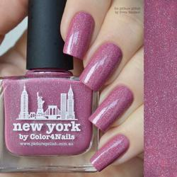NEW YORK Collaboration Picture Polish
